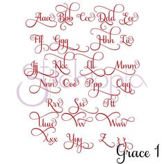 Stitchtopia Grace Monogram Set A-Q Sizes: Included: Uppercase & Lowercase Letters, 26 Alternate Curly Lowercase Letters Stitch Type: Wide/Weaved Satin Stitch Calligraphy Fonts Alphabet, Cursive Alphabet, Hand Lettering Alphabet, Handwriting Fonts, Script Fonts, Monogram Letters Font, Fancy Fonts Alphabet, Bubble Letter Fonts, Decorative Lettering