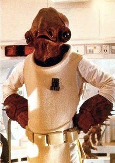 Admiral Ackbar (Mon Calamari, Star Wars) #admiral #ackbar #star #wars