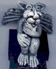 Learn how to make these stone-looking Gargoyles; make one or many and give them personalities.