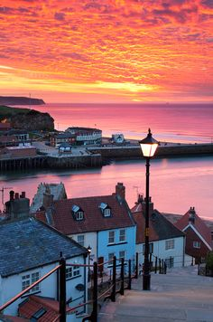 199 Steps, Whitby, Yorkshire, England