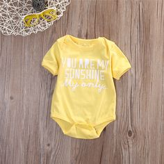 2017 New Style Fashion Newborn Baby Bodysuit Infant Kids Boys Girls Clothes Toddler Short Sleeves Bebes Baby Clothing Outfit