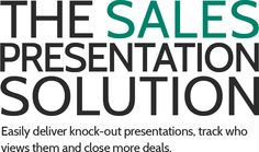 CustomShow.com is the best presentation software for sales teams who want great looking presentations that close deals.
