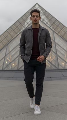 Casual winter outfits, winter fashion outfits, autumn fashion, minimalist s Stylish Mens Outfits, Casual Winter Outfits, Winter Fashion Outfits, Fall Outfits, Autumn Fashion, Simple Outfits, Blazer Outfits Men, Outfits Hombre, Mens Fashion Blog
