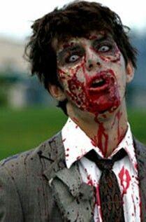 Men's zombie makeup                                                       …