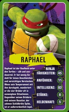 Top Trumps - Teenage Mutant Ninja Turtles #toptrumps #ninja #turtles #tmnt