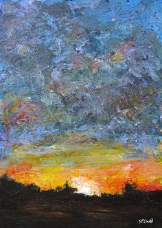 Stephen Shaw is an Irish artist, painter & graphic designer. Originally from Derry but now living and painting in Dublin. A3 Size, Graphic Design, Sunset, Board, Artist, Painting, Sunsets, Painting Art, Paintings