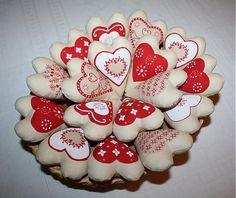 20 ks vanilkových srdiečok by VanillaDream - SAShE.sk - Handmade Dekorácie