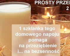 HOTTO.PL-mleko-z-miodem-na-przeziebienie-i-na-bezsennosc-domowe-sposoby-na-przeziebienie Candle Jars, Detox, Health, Health Care, Salud