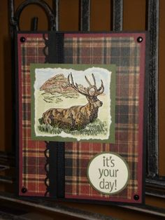 Another Masculine Card! by megala3178 - Cards and Paper Crafts at Splitcoaststampers
