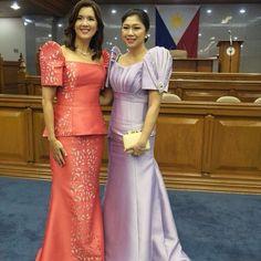 Pia Cayetano @piacayetano | Websta Filipiniana Wedding, Filipiniana Dress, Wedding Gowns, Vietnam Costume, Filipino Fashion, Phonetic Alphabet, Elegant Gown, Queen Costume, Dress Making Patterns