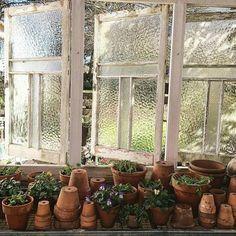 Potting Sheds... Farmhouse Touches — oldfarmhouse: Mountainhomesteader @instagram
