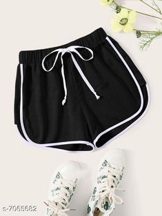 Shorts Vivient Women Black Hosery Short Fabric: Cotton Pattern: Solid Multipack: 1 Sizes:  24 (Waist Size: 24 in Length Size: 12 in Hip Size: 16 in)  26 (Waist Size: 26 in Length Size: 13 in Hip Size: 18 in)  28 (Waist Size: 28 in Length Size: 14 in Hip Size: 20 in)  30 (Waist Size: 30 in Length Size: 15 in Hip Size: 22 in) Country of Origin: India Sizes Available: 24, 26, 28, 30   Catalog Rating: ★4.1 (1341)  Catalog Name: Stylish Unique Women Shorts CatalogID_1127425 C79-SC1038 Code: 542-7065682-996