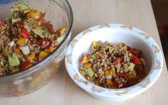 Balsamic Farro Salad Recipe