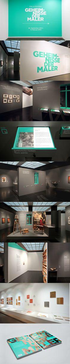 Great art exhibition design!