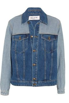 Paul & Joe - Patchwork Denim Jacket - Dark denim - 2