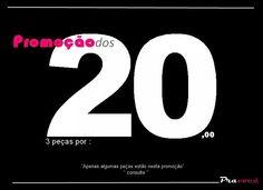 *** PROMOÇÃO DOS 20 ***          ** 3 pçs por 20,00 **   Isto mesmo , monte seu Look com apenas R$ 20,00 reais ou você atacadista, aproveite  e lucre mais!  #promoçãodos20 #20 #biju #colar #pulseira #anel  #brinco #promoção  #moda #look #euquero #bijouterias #love #me #cute #instamoda #girl #fashion #smile #life #photo #instalove #2014 #tweegram #photooftheday #pravoce   ... Apenas algumas peças estão nesta promoção...