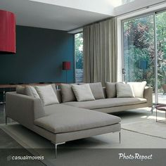 Charles sofa design by Antonio Citterio #bebitalia #antoniocitterio #interiordesign | Flickr - Photo Sharing!