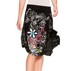 Love Skirt Black now featured on Fab.