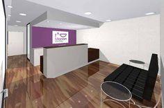 """001 Clinic Interior Design - Silvan Francisco,  """"Marion Dental"""" in Madrid. 2004"""