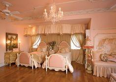 Princess bedroom - French Flair: Showcase - Cote d'Azur - Custom-built Luxury Mansion