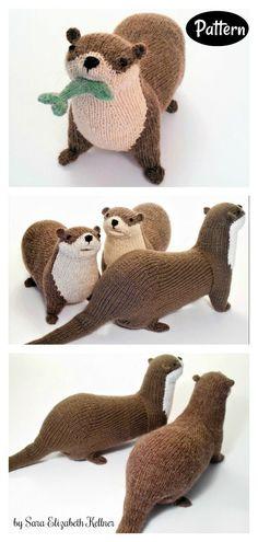 River Otter Knitting Pattern