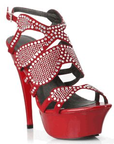 Womens Ellie Shoes Miranda Intricately Cut Straps 6 Inch Heel 2 Inch Platform ** Details can be found by clicking on the image. (This is an affiliate link) Hot Heels, Sexy High Heels, Heeled Boots, Shoe Boots, 6 Inch Heels, Stiletto Heels, Stilettos, Platform Shoes, Wedge Sandals