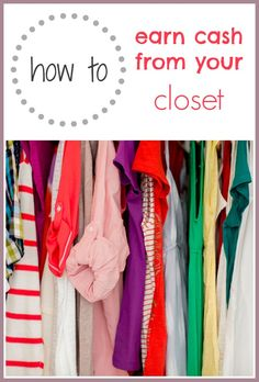3 ways to sell your clothes, accessories, gadgets and more and make money from your closet
