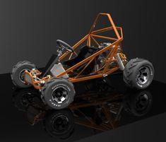 Gokart Plans 306385580896977813 - Image Source by flo_divers Go Kart Buggy, Off Road Buggy, Mini Jeep, Mini Bike, Go Kart Motor, Go Kart Kits, Kart Cross, Go Kart Frame, Kit Cars