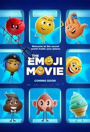 The Emoji Movie (July 28, 2017) a computer 3-D animated adventure film. Gene a emoji has many facial emotions, while each emoji only has one. He asks his friend Jailbreaker, a code breaker to go through apps to help  Voice Stars: T.J. Miller, Anna Faris, James Corden, Patrick Stewart, Maya Rudolph, Steven Wright, Rob Riggle, Jennifer Coolidge, Jake T. Austin, Sofia Vergara, and Christina Aguilera.