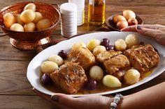 Receita de Bacalhau Assado com Legumes { Especial de Natal }