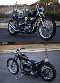 Harley Davidson pAnhead  Flathead knucklehead Bobber Vintage l//p topper vintage