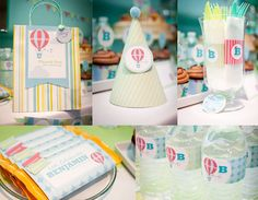 up & away baby shower