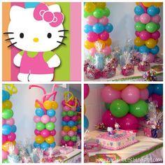 Hello Kitty Ideas  A little girl dream party!! :)