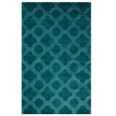 Home Decorators Collection Morocco Teal 8 ft. x 11 ft. Area Rug - 0481630330 - The Home Depot