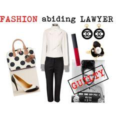 Fashion abiding lawyer, created by ivana-hancin.polyvore.com