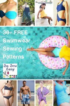 30 FREE Swimwear Sewing Patterns: Summer's Coming!