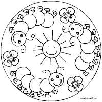 Rups Mandala en veel andere insect mandala's