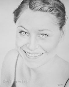 Rosanna | Melissa Helene 8x10 graphite portrait www.melissahelene.com