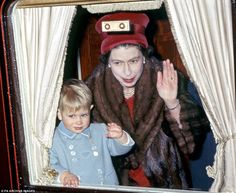 When Andrew and Edward arrived, it was like a second family for the Queen. From the moment of Andrew's birth she made time for him, and it was pattern repeated four years later.
