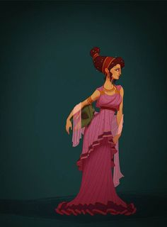Historically accurate Meg-ancient Greece. Claire Hummel, Shoomlah.com make it Persephone, color or white on top and black bottom, blood red drops for jewelry