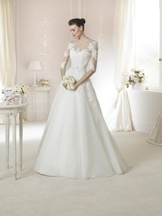 Style * DAGNIR * » Wedding Dresses » White One 2015 Collection » by San Patrick
