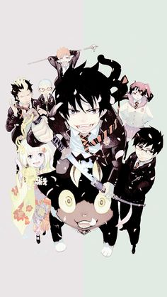 NEKOMA, celtyh: Ao no Exorcist wallpapers