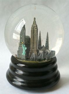Saks Fifth Avenue Music Box ~ New York, New York [snow globe] | Flickr - Photo Sharing!
