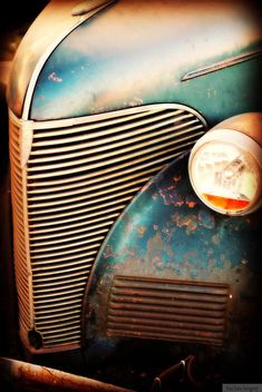 Old Chevy Truck - Rustic Wall Art - Classic Car Art Prints - Retro Print - Vintage Car Photography - Garage Art via Etsy
