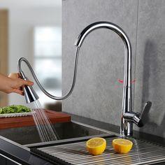 Attraktiv Details Zu Ausziehbare Einhandmischer Küchenarmatur Spültischarmatur Spülen  Wasserhahn