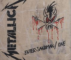 "For Sale - Metallica Enter Sandman / One UK Promo  CD single (CD5 / 5"") - See this and 250,000 other rare & vintage vinyl records, singles, LPs & CDs at http://eil.com"