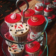 How does your company conduct trainings? Adobe Singapore provided fun Adobe cupcakes for the Creative Cloud partners training! #adobelife
