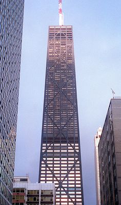 John Hancock Tower (Chicago Pin of the Day, 1/27/2015).