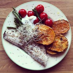 fishy sweet potato
