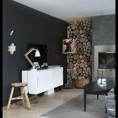 @bohemiansense Chalk Paint, Concrete, Modern Interiors, Living Room, Inspirational, Instagram, Home Decor, Modern Interior Doors, Homemade Home Decor